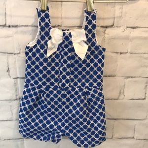 Janie & Jack Girls Romper Sz 18 24 Month 2018